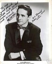 Manuel Studillo (Latin Singer) signed photo- SS Brasil - $5.94