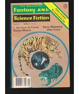 May 1978 Magazine of Fantasy & Science Fiction-Raylyn Moore, Isaac Asimov - $11.01
