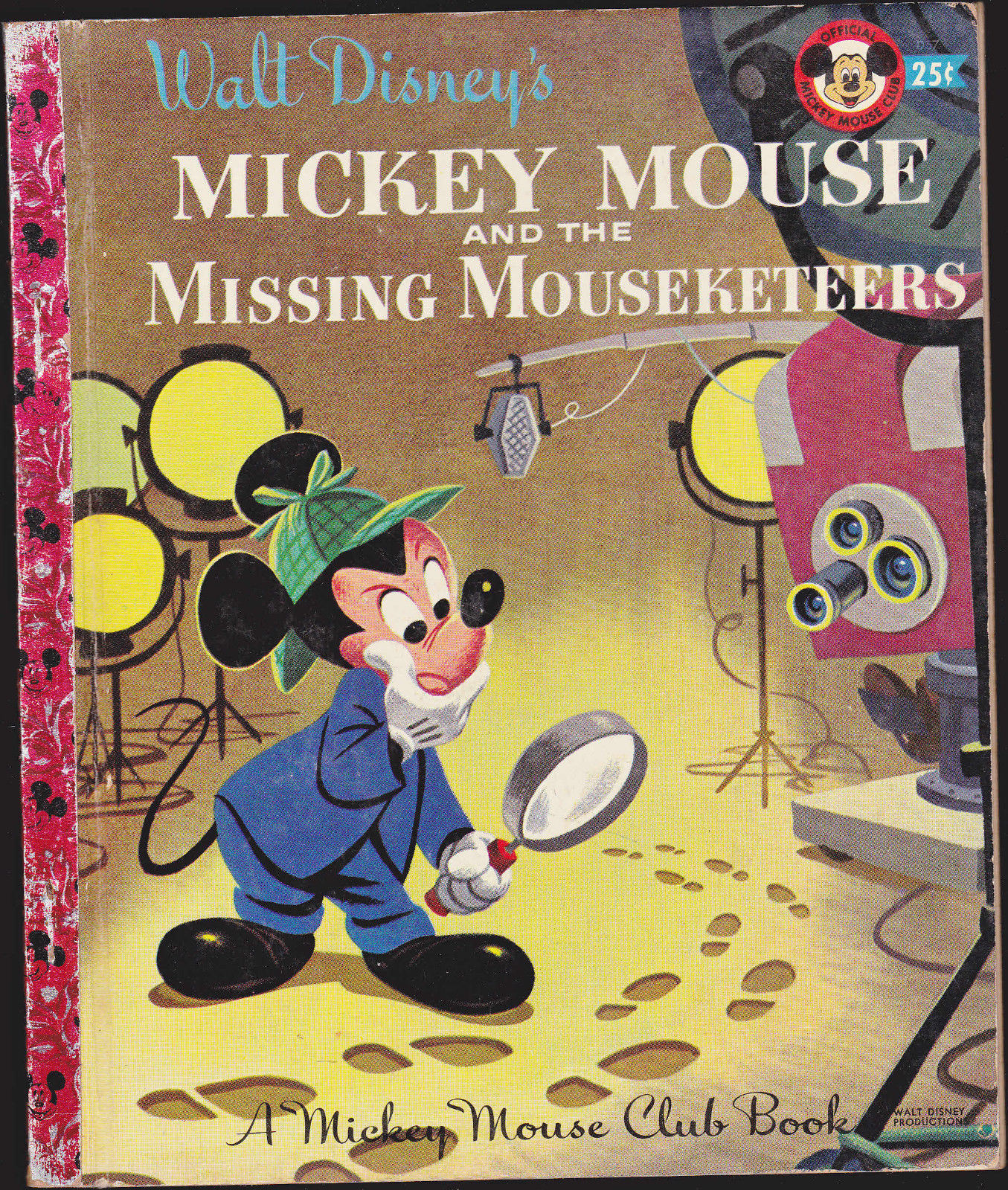 Mickey Mouse & the Missing Mouseketeers  Little Golden Book (1st print)