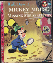 Mickey Mouse & the Missing Mouseketeers  Little Golden Book (1st print) - $13.99