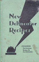 New Delineator Recipes 1930 (Butterick) 222 pages - $11.02