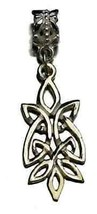 COOL silver .925 Celtic Infinity knot European bead charm - $26.97