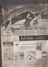 P&S Sales 1965 Spring Catalog Outdoors Knick-Knacks Tchotchkes Tulsa Ok - $17.98