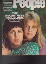 People Magazine Paul Linda McCartney Rita Moreno April 21 1975 Free S/H - $19.95