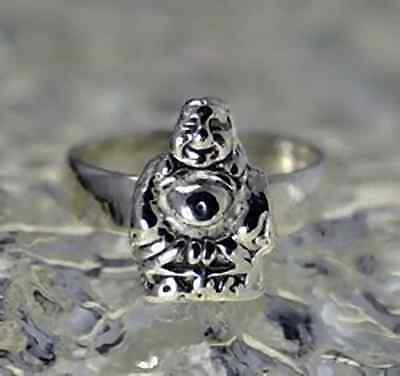 COOL fat buddha laughing buddhism buddhist hotei ring lucky