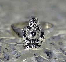 COOL fat buddha laughing buddhism buddhist hotei ring lucky - $33.65