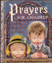 Prayers for Children Little Golden Book 1st print Eloise Wilkin - $9.04