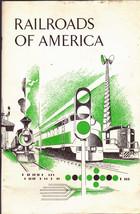 Railroads of America (1969) booklet - $8.65