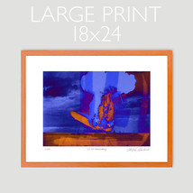 HINDENBURG DEATH DISASTER ANDY WARHOL HOMAGE POP ART LIMITED ED. PRINT S... - $29.67