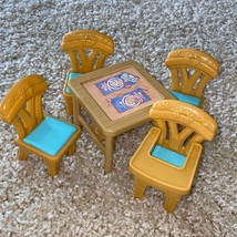 Fisher-Price Flip Table & Chairs Loving Family Dollhouse Furniture Set - $14.40