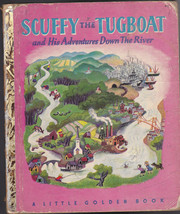 Scuffy the Tugboat  Little Golden Book  6th print - $10.02