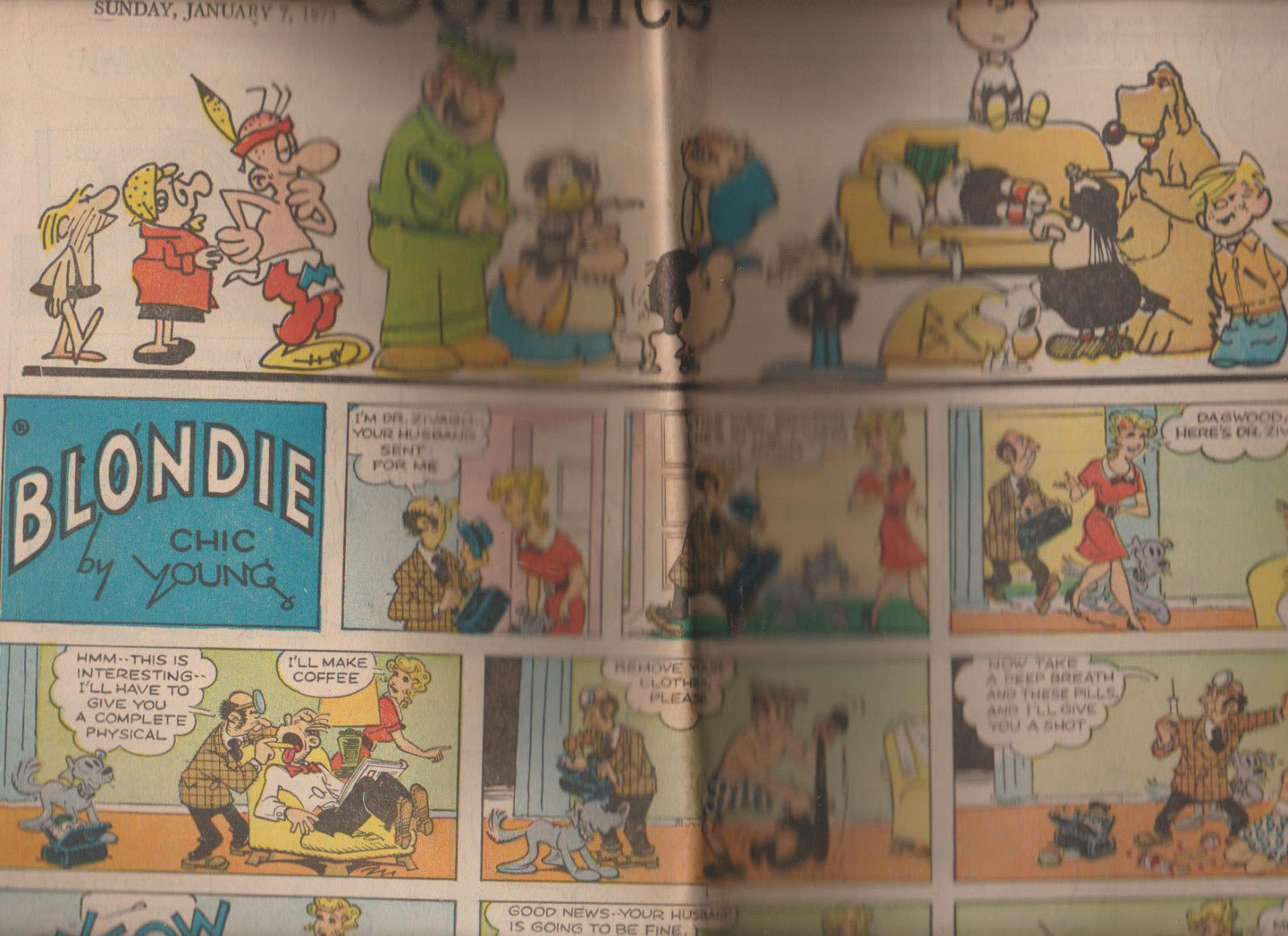 Beetle Bailey Comic book Near Mint bagged /& boarded #1 1970 Complimentary