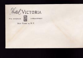 Unused vintage envelope- Hotel Victoria (New York City) - $4.95