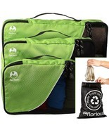 Florious 4-Piece Packing Cubes Laundry Bag Valu... - $60.29