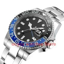 Ocysa Mechanical Automatic Men Watch Gold Relogio Masculino gmt Ceramic Bezel  S - $92.00 - $135.70