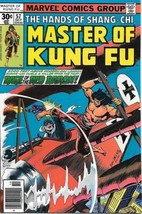 Master of Kung Fu Comic Book #57 Marvel Comics Group 1977 FINE - $2.99