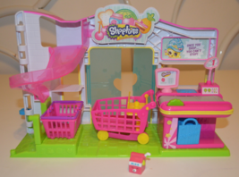 Shopkins Small Mart with various pieces - $25.00
