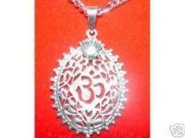 COOL Silver Charm Pendant Ganesh Hindu OM Crown Jewelry - $24.99