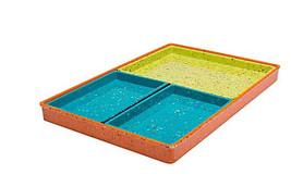 New Zak! Designs Confetti Modular 4 Piece Servi... - $58.05