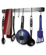 Enclume Rack It Up Utensil Bar Hook Rack Wall D... - $41.29