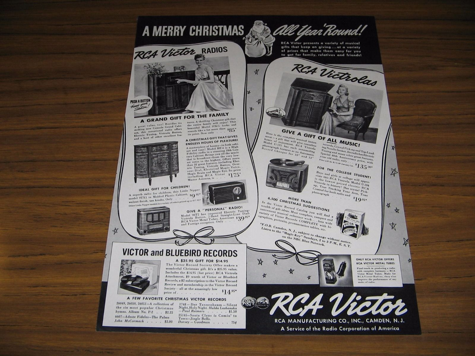 1938 Print Ad RCA Victor Radios & Victrolas and similar items