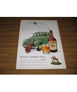 1951 Print Ad Hunter Whiskey Austin Motor Car Co. Leonard Lord - $8.35