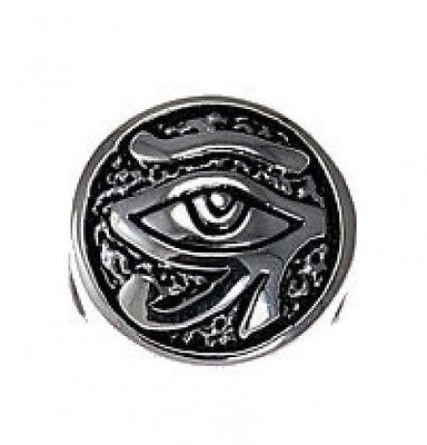 Primary image for COOL Silver Egyptian Eye of Horus BEAD fits jewelry bracelet