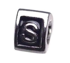 COOL Letter S Initial European Bead for bracele... - $23.20