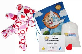 """Valentino the Bear 16"""" Make Your Own Stuffed Animal- No Sew - Kit with C... - $15.88"""