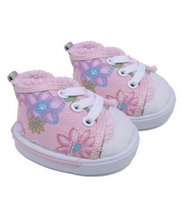 "Girl Power Shoes Teddy Bear Clothes Fits Most 14"" - 18"" Build-a-bear, Ve... - $9.79"