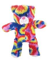 Cuddly Soft 8 inch Stuffed Tie Dye Bear...We stuff 'em...you love 'em! - $13.71
