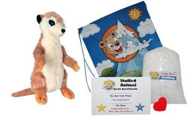 """Make Your Own Stuffed Animal """"Sherlock the Meerkat"""" - No Sew - Kit With ... - $17.10"""