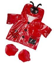 "Ladybug Raincoat Fits Most 14"" - 18"" Build-a-bear, Vermont Teddy Bears, ... - $12.59"