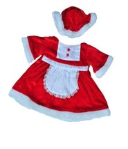 """Mrs. Claus Outfit Teddy Bear Clothes Outfit Fits Most 14"""" - 18"""" Build-a-... - $12.73"""