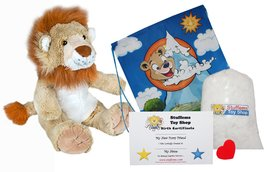 """Dan D Lion 16"""" Make Your Own Stuffed Animal- No Sew - Kit with Cute Back... - $16.71"""