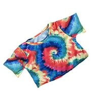 Tie Dye T-Shirt multi-coloured yellow, red, green, blue to fit Bears 8-1... - $3.40