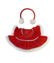 """Red """"Winter Wonderland"""" Outfit Teddy Bear Clothes Fits Most 14"""" - 18"""" Bu... - $11.75"""