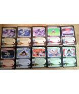 COOL Dragonball Z CCG DBZ Frieza Saga cards lot singles set #1 - 10 vege... - $6.91