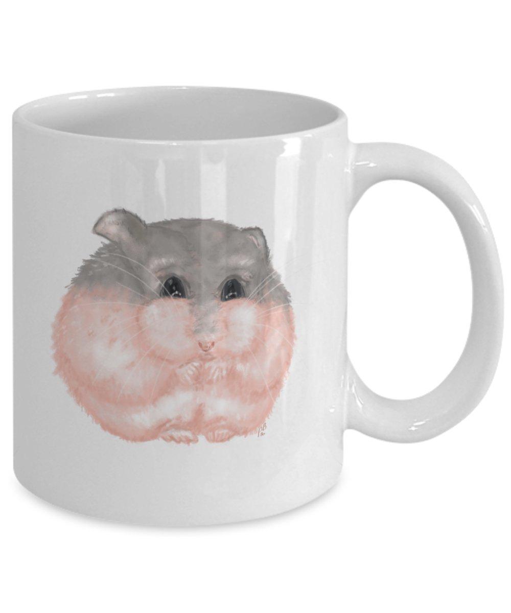 Cute Coffee Mug Dwarf Hamster Hamster Gift Hamster