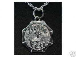 COOL Sterling Silver French Bonne Fete Happy Birthday Charm - $22.20