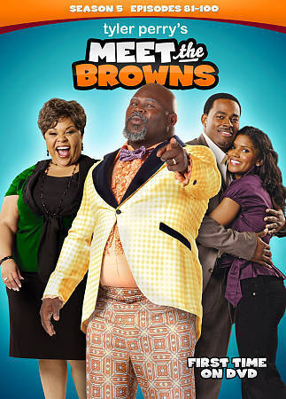 Tyler Perry's Meet The Browns: Complete Fifth Season 5 (DVD Set) TV Series New