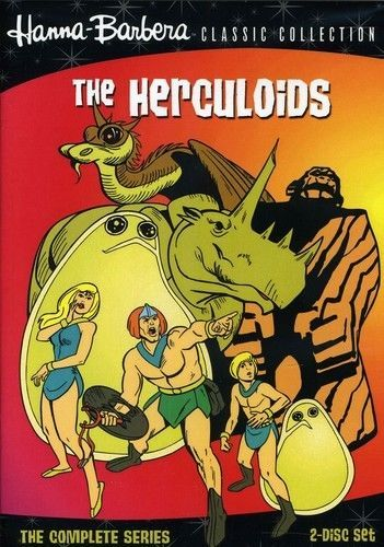 Herculoids: The Complete Series (DVD Set) Classic TV Cartoon Show [New]