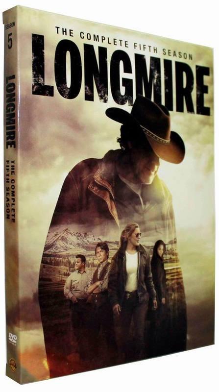Brand New Longmire The Complete Season 5 (DVD, 2016, 3-Disc Set) Free Shipping