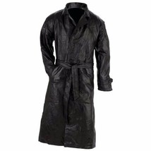 Giovanni Navarre® Italian Stone™ Design Genuine Leather Trench Coat - $63.16