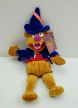 "Fozzie Bear 10"" Plush The Muppet Show 25 Years Nanco Blue Cape Hat & Fangs - $14.84"