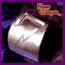 Lucky #7 Lightning Bolt Good Luck Money Ring! Luxury Abundance & Wealth! haunted - $299.99
