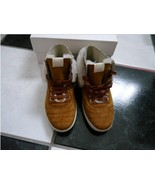 NIB 100% AUTH Gucci Boy's Brown Shearling Sneakers 324486 Sz 33(us 2) - $196.02