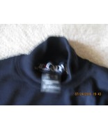 Escada Navy Mock Turtleneck Sweater - size 38 - $50.00