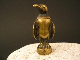 Antique french small figurine pinguin bronze - $55.00