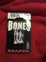 Skeleton Warrior Spearman (3) 77244 - Dark Heaven Bones - Reaper Miniatu... - $6.80